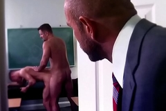 Hairy condensed fucks the principal