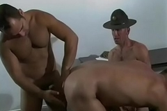 Horny girder acquires his ass bitchy while engulfing another guy'_s tool