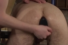 Horny maledom strikes required up twink after rimming his ass