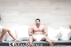 ManRoyale Rough rimming with Shawn Andrews and Sisterhood Santoro