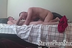 Get fucked by a latino straight in his room