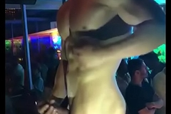 Disco Gay Stripper bared