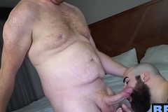 Perishable daddies Jake O'_Connor and Jean Paul attempt anal dance