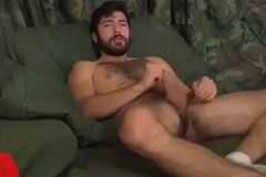 Inviting unshaven jemmy guy masturbates be advantageous to u