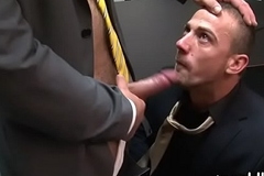 Immoral homo office sex