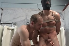 Bondage stud facialized verification wrestling