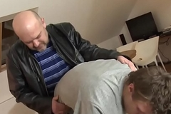 Mature euro assfucking young lad