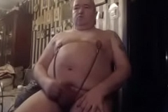 big nipples small cock old men